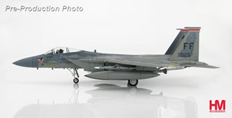 HobbyMaster Diecast McDonnell Douglas F-15C Eagle 84-025 FF 71st FS Langley AFB Air Power Series