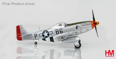HobbyMaster Diecast P-51D Mustang 44-14937 363rd FS 357th FG Gentleman Jim 1944 Air Power Series
