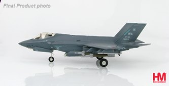 HobbyMaster Diecast Lockheed F-35A Lightning II 12-5053 WA 57th WG 16th WPS FS USAF Air Power Series