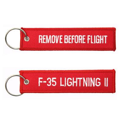 F-35 Lightning II keyring