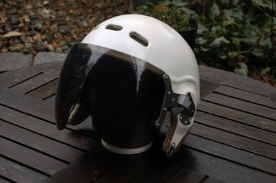 ZSh-3 flight helmet mask USSR