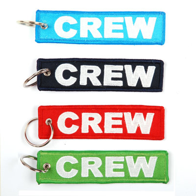 keyring Crew embroided Key Chain