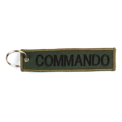 keyring Commando embroided Key Chain