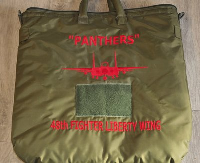 Pilot helmet bag 48th Fighter Wing