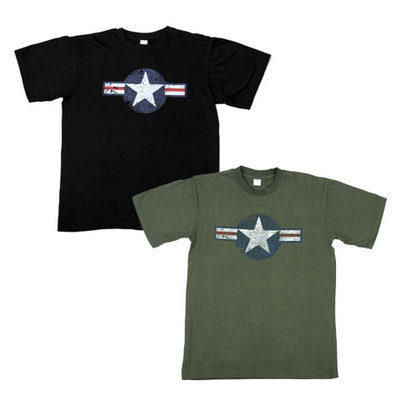 USAF T Shirt WW II green