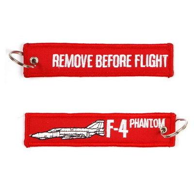 F-4 Phantom keychain Remove Before Flight