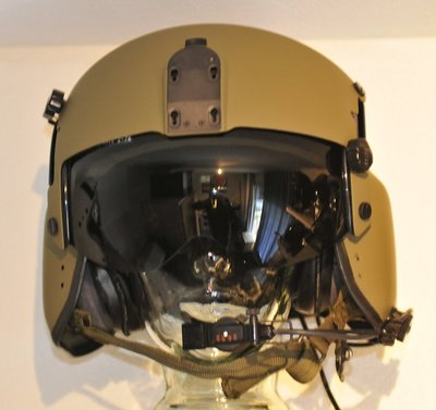 Gentex HGU-56 helicopter flight helmet Size Small with helmet bag