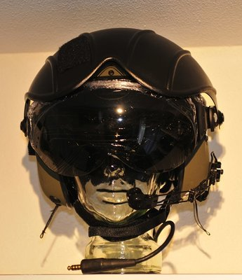Gentex Alpha 200 flight helmet (New!) size Small RAF & helmet bag