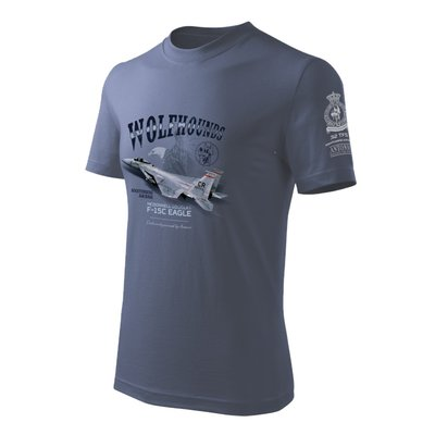 F-15C Eagle T Shirt 32nd Tactical Fighter Squadron