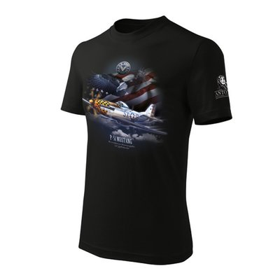 P-51 Mustang T Shirts Antonio Original for Pilots
