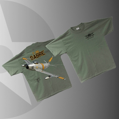 F-86 Sabre T Shirt Planes of Fame original