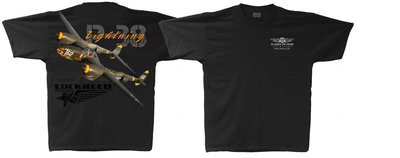 P-38 Lightning T Shirt Planes of Fame original