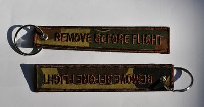 Remove before flight (Camo color)