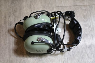 David Clark headset - used on the KLu C-130 & KDC-10