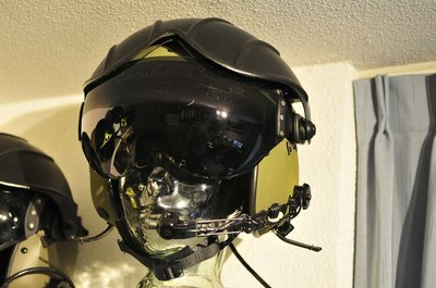 Gentex Alpha 200 flight helmet size Small helmet bag