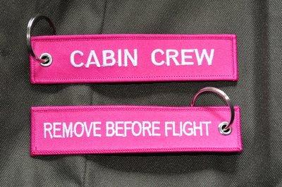 Cabin Crew keychain keyring