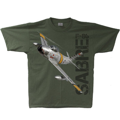 F-86 Sabre Adult T-Shirt Skywear Line