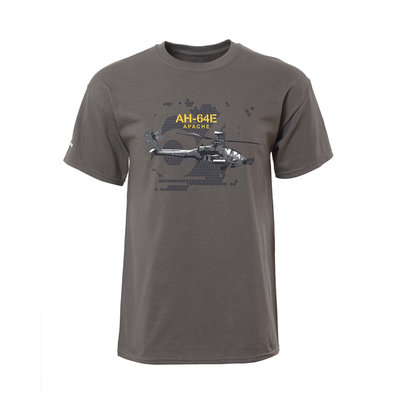 Boeing AH-64E Apache T Shirt T-Shirt Boeing Heritage Collection