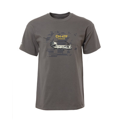 Boeing CH-47F Chinook T Shirt T-Shirt Boeing Heritage Collection