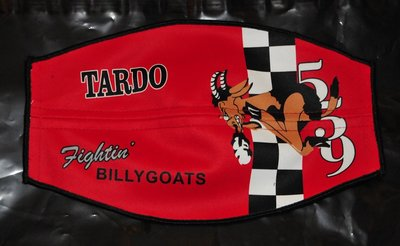 Flight helmet visor cover 559 Sq Fighting Billy Goats