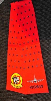 13th Fighter Squadron pilot scarve WGWW