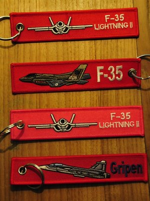 set 9: Remove Before Flight Keychains Keyrings Key Chains 4 different keyrings