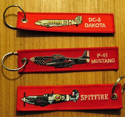set 10: Remove Before Flight Keychains Keyrings Key Chains 3 different keyrings (oldies)