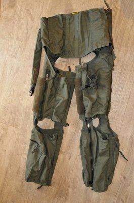 CSU-13B/P Anti G suit size Medium Anti-G Garment