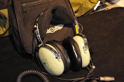 David Clark headset with microphone (KLu)