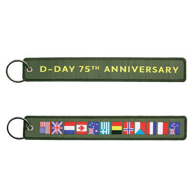 keyring keychain D-Day 75th Anniversary