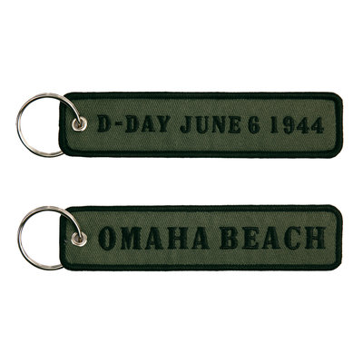 keyring keychain D-Day June 1944 Omaha Beach