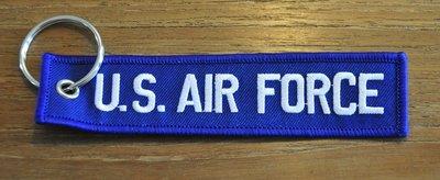 US AIR FORCE keychain keyring USAF keyring