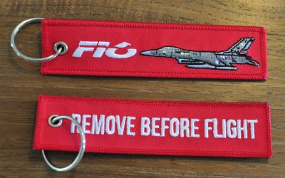 F-16 Fighting Falcon keyring keychain