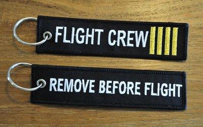 FLIGHT CREW keychain keyring
