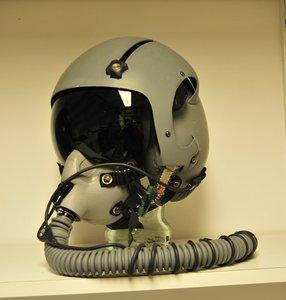 Gentex HGU-55/G flight helmet Small & MBU-12/P with WEA Long