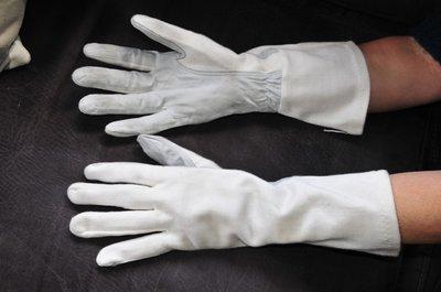 Nomex pilot gloves beige & grey