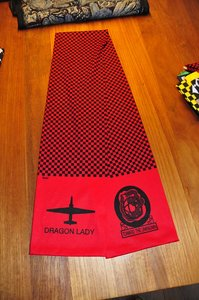Lockheed U-2 Dragon Lady pilot scarve U-2 Dragon Lady
