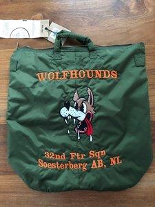 Helmet bag 32nd TFS Wolfhounds Soesterberg AB, NL