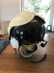 Alpha 200 helicopter flight helmet size Large