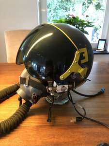 ZSh-5 flight helmet with mask Czech Air Force Mig-21 Fishbed