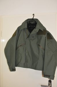 RAF aircrew green mk4fr cold weather flight jacket size 5