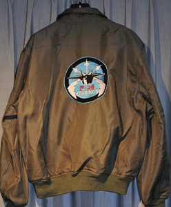 Embroidered CWU-36/P flight jacket F-35 Lightning II