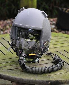 Gentex HGU-55/p flight helmet with MBU-12/P oxygen mask Large with helmet bag