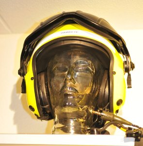 Gentex Alpha 100 flight helmet Hawkeye