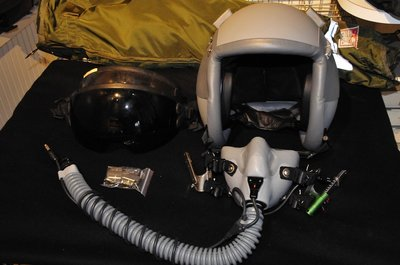 Gentex HGU-55/P flight helmet (brandnew) with MBU-12/P oxygen mask