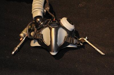 Gentex MBU-20/P oxygen mask size Large Wide with WEA